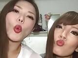 Hitomi Tanaka si Okita Anri fac live pe instagram